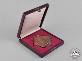 Germany, HJ. A HJ Table Medal with Presentation Case