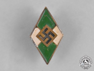 Germany, HJ. A Membership Badge