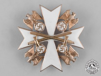 Germany, Third Reich. An Order of the German Eagle, IV Class with Swords, by Gebrüder Godet & Co.