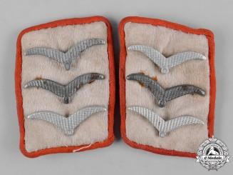 Germany, Luftwaffe. A Set of Hermann Göring Division Obergefreiter Flak Collar Tabs