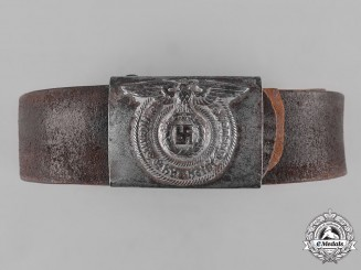 Germany, SS. An EM/NCO's Belt and Buckle, by Paul Meybauer