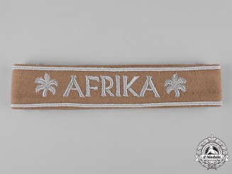 Germany, Wehrmacht. An Afrika Campaign Cuff Title