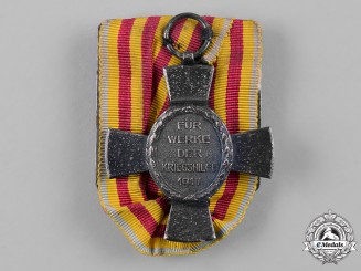 Mecklenburg-Strelitz, Duchy. An Adolf Friedrich Cross