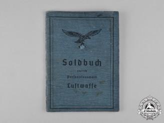 Germany, Luftwaffe. A Soldbuch, 3./Fallschirmjäger-Gen-Batl. 4, Brandenburg