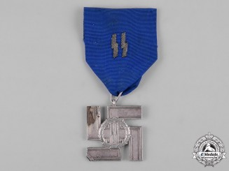 Germany, SS. A 12-Year Long Service Award