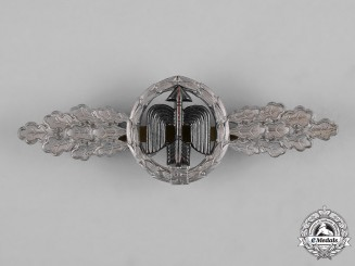 Germany, Luftwaffe. A Short Range Day Fighter Clasp, Silver Grade, by Gustav Hermann Osang