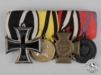 Germany, Imperial. An EK II Württemberg Medal Bar