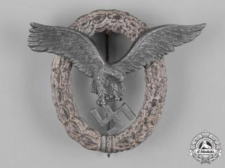 Germany, Luftwaffe.  A Pilot's Badge, Unmarked Friedrich Linden