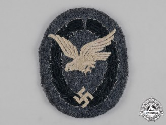 Germany, Luftwaffe. An Unqualified Air Gunner/Flight Engineer Badge, Cloth Version
