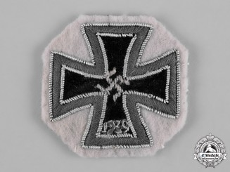 Germany, Wehrmacht. A 1939 Iron Cross, I Class, Cloth Version