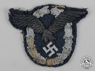 Germany, Luftwaffe. A Pilot Badge, Officers Cloth Version