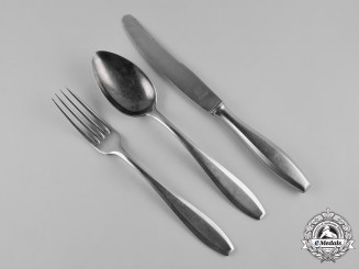 Germany, SS. A Three-Piece SS Tableware Set, by Olympia