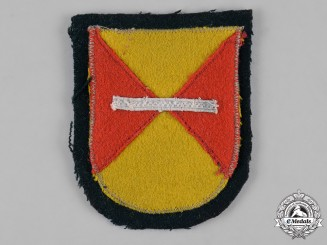 Germany, Heer. A Field-Made 4th Kuban Cossack Cavalry Regiment Arm Shield