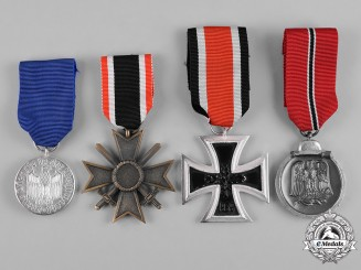 Germany, Wehrmacht. A Lot of Wehrmacht Medals, Post-1957 Reissue