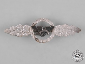Germany, Luftwaffe. A Front Flying Clasp for Transport Pilots, Silver Grade, Post-1957 Reissue