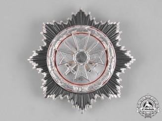 Germany, Wehrmacht. A German Cross in Silver, Post-1957 Reissue