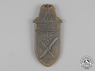 Germany, Wehrmacht. A Narvik Shield