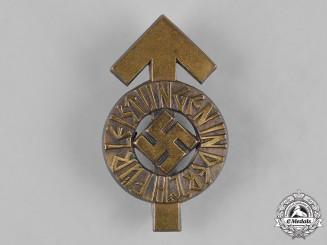 Germany, HJ. A Proficiency Badge, Bronze Grade, by Gustav Brehmer