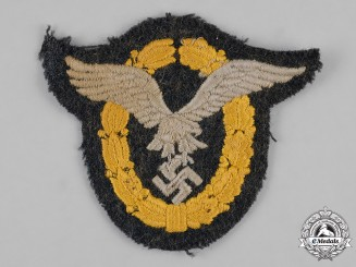 Germany, Luftwaffe. A Combined Pilot/Observer Badge, EM/NCO's Cloth Version
