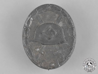 Germany, Wehrmacht. A Wound Badge in Silver by Moritz Hausch