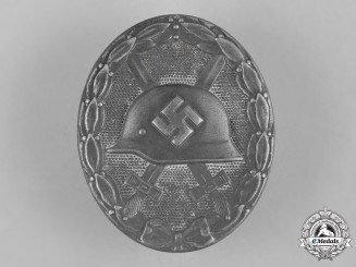 Germany, Wehrmacht. A Wound Badge in Silver by Steinhauer & Lück