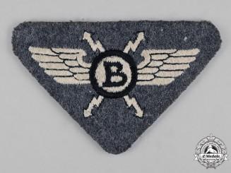 Germany, NSFK. A National Socialist Flyer's Corps (NSFK) Radio Operator's Badge