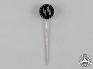 Germany, SS. A SS Membership Stick Pin by Otto Gahr