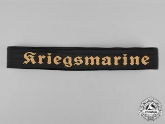 Germany, Kriegsmarine. A Kriegsmarine Cap Tally