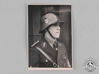 Germany, SS. A Photograph of a SS-Verfügungstruppe Sturmmann
