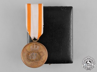 Prussia, State. A General Honour Decoration with Case