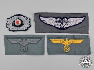 Germany, Third Reich. A Lot of Third Reich Period Uniform Insignia