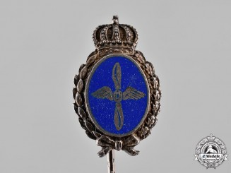 Bavaria, Kingdom. A First War Luftfahrerverband Membership Stick Pin, by L. Lerch