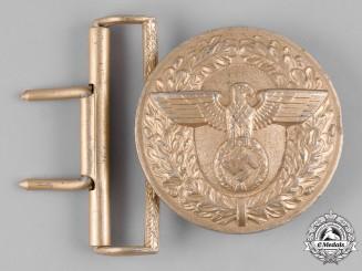 Germany, Wehrmacht. A NSDAP Political Leader's Belt Buckle by F.W. Assmann & Söhne