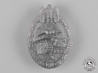 Germany, Heer. A Panzer Assault Badge, Silver Grade, by Steinhauer & Lück