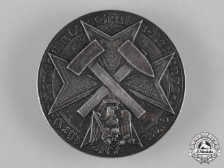 Germany, Third Reich. A Rare Mine Rescue Commemorative Badge