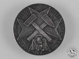 Germany, Third Reich. A Rare Mine Rescue Commemorative Badge