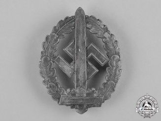 Germany, SA. An SA Military Sports Badge for War Wounded, by Deschler & Sohn