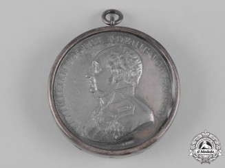 Bavaria, Kingdom. A Silver Military Medal, by J. Ries