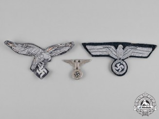 Germany, Wehrmacht. A Group of Uniform Eagle Insignia