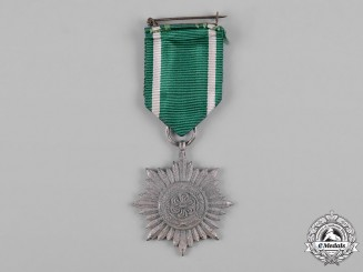 Germany, Wehrmacht. An Eastern People's Merit Decoration, II Class, Silver Grade