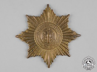 Prussia, State. A Prussian Guard Helmet Star
