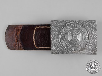 Germany, Heer. An EM/NCO Belt Buckle, by G. Brehmer, c.1938