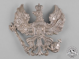 Prussia, Kingdom. An Infantry Officer's Pickelhaube Plate