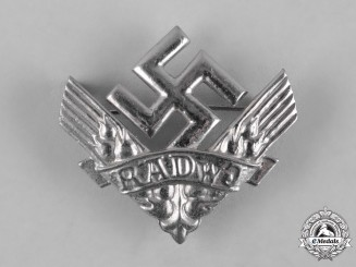 Germany, RAD. A Reich Labour Service of Young Women (RADwJ) Membership Badge