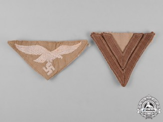 Germany, Luftwaffe. A Pair of Tropical Insignia