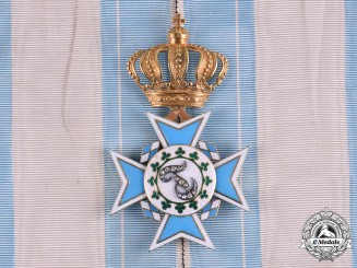 Bavaria, Kingdom. An Order of Theresa, Order Cross in Gold with Diamonds, by Eduard Quellhorst