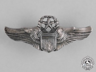United States. An Army Air Force Command Pilot Badge, Reduced Size, by Davorn