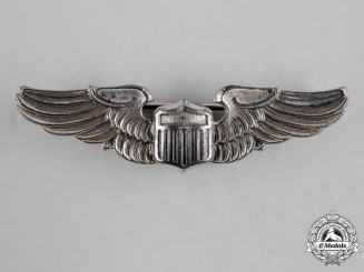 United States. An Army Air Force Pilot Badge, Reduced Size, by Amico