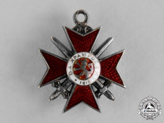 Bulgaria, Kingdom. A Miniature Military Order of Bravery, IV Class