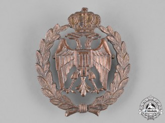 Yugoslavia, Kingdom. An Army Cap Badge, c.1940